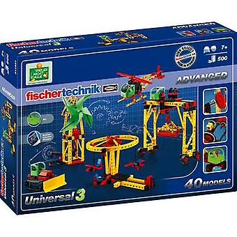 fischertechnik 511931 Universal 3 Science kit 7 år og over