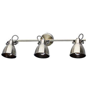 Glasberg - tre caffè e oro Luce Faretto orientabile sulla barra 547020803