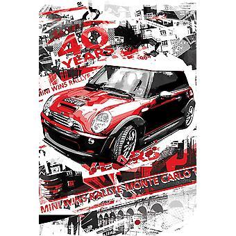 Poster - Studio B - 24x36 Rallye Monte Carlo Wall Art CJ1523