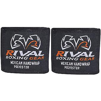 "Rival Boxing 200"" Mexican Style Handwraps - Black"