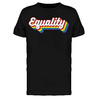 Pride Month Equality Tee Men's -Image by Shutterstock