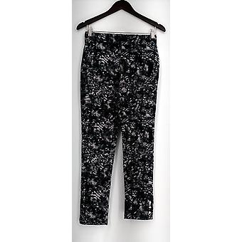 Slimming Options for Kate & Mallory Leggings Pull On 2 Waistband Black A434323