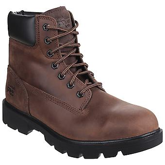 Timberland Pro Mens Sawhorse Lace Up Safety Boot Brown