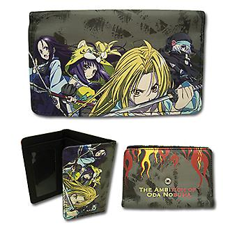 Wallet - Ambition of Oda Nobuna - Group with Fire Toys Gifts Anime ge61978