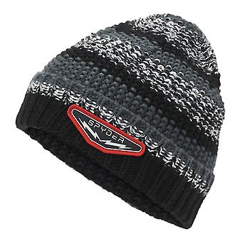 Spyder TERRAIN Kids Knit Winter Ski Hat - Black