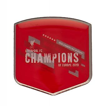 Liverpool FC Champions of Europe-badge