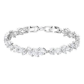 Swarovski Louison bracelet - White - rhodio plating