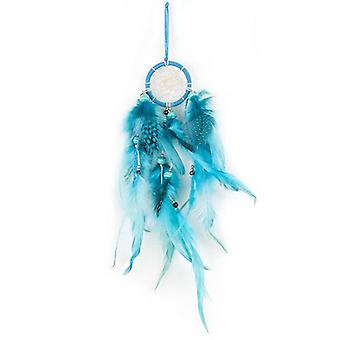 Blue and Black Dream Catcher 30cm