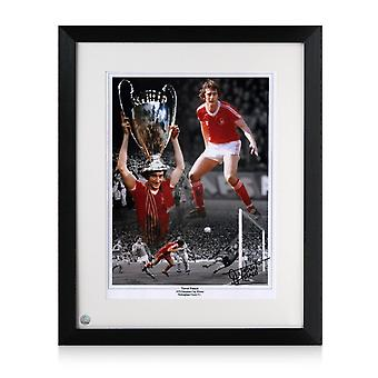 Trevor Francis Signed Nottingham Forest Photo Framed