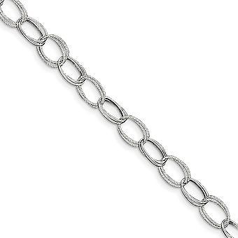925 στερλίνα ασημένια στιλβωμένο Αστακός νύχι κλείσιμο Fancy σύνδεση αστράγαλος 10 ιντσών Αστακός νύχι κοσμήματα δώρα για τις γυναίκες