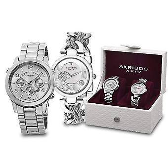 Akribos XXIV Clock Donna Ref. AK676SS