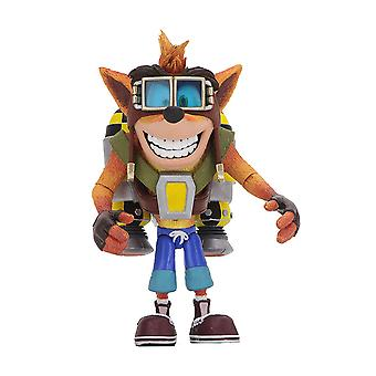 "Crash Bandicoot Crash with Jetpack 7"" Deluxe Action Figure"