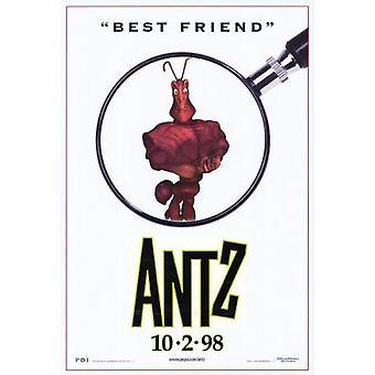 Antz (نمط واحد العادية من جانب B) (1998) ملصق السينما الأصلي