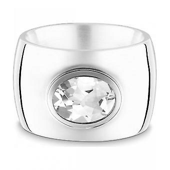 QUINN-ring-kvinder-sølv 925-ædelsten-hvid topas-bredde 56-21039620