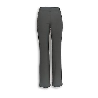 Donne con Control Women's Pantaloni XXS Ponte di Roma Slim Gray A258876
