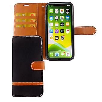 eple iPhone 11 Pro Max telefon sak beskyttende etui dekke kort skuff tilfelle svart