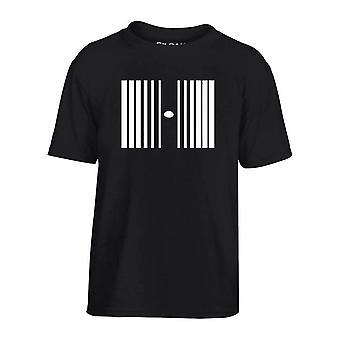 T-shirt bambino nero dec0072 effetto doppler