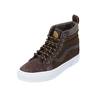 Vans UA SK8-Hi MTE Unisex Sneaker Brown Turn Shoes Sport Running Shoes