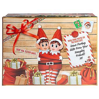 Christmas Shop Elf Christmas Eve box