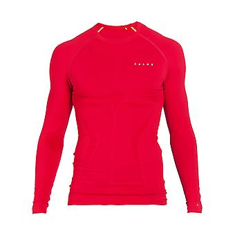 Falke ski T-shirt ML Max warm rood T-shirt