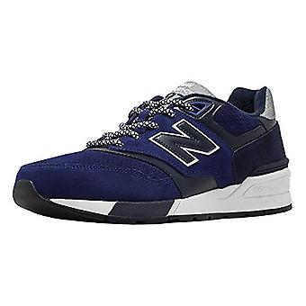 New Balance 597 Modern Classic Casual Men's Shoes Size 11 Navy
