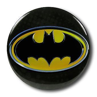 Batman Symbol Button Magnet Bottle Opener