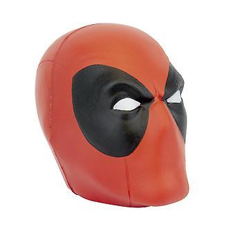 Marvel Stressball Deadpool negro, impreso, plástico.