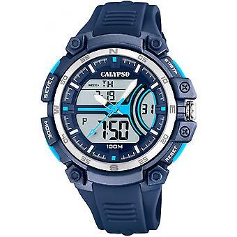 Reloj Calypso K5779-3 - de relojes reloj silicona Blue Man