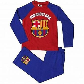 FC Barcelona Çocuk Erkek Futbol Pijama
