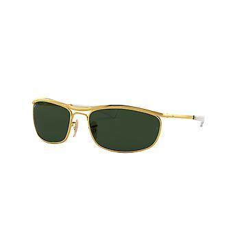 Ray-Ban Olympian Deluxe RB3119M 001/31 Guld /Gröna solglasögon