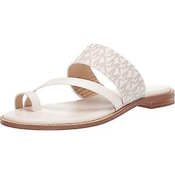 Michael Michael Kors Pratt Flat Sandal Van/Cream 7