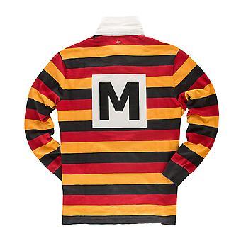 Musta & Blue 1871 miesten mohikaani Rugby-paita
