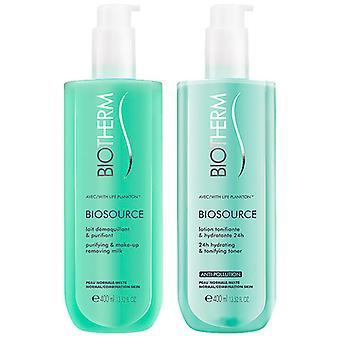 Women's Cosmetics Set Biosource Duo Biotherm (2 pcs) Normal skin