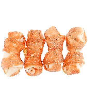 ワット/チキン (犬、お菓子、自然な御馳走) Ferribiella 生皮の骨