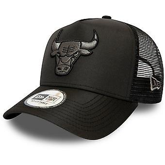 New Era A-Frame Trucker Cap - RIPSTOP Chicago Bulls
