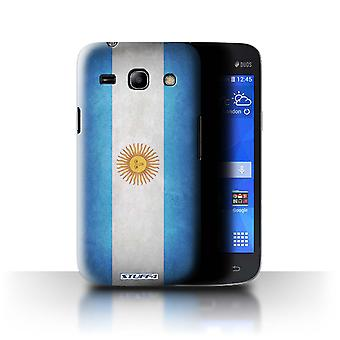 STUFF4 Case/Cover for Samsung Galaxy Star 2 Plus/G350E/Argentina/Argentinean/Flags