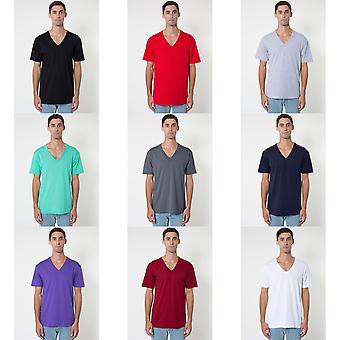 American Apparel Unisex Short Sleeve V-Neck T-Shirt