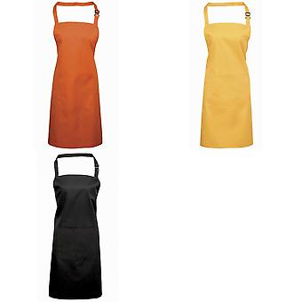 Premier Deluxe Apron With Neck Adjusting Buckle / Workwear (Pack of 2)