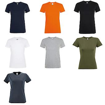 SOLS Womens/Ladies Regent Short Sleeve T-Shirt