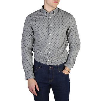 Tommy Hilfiger Original Men All Year Shirt - Grey Color 40767