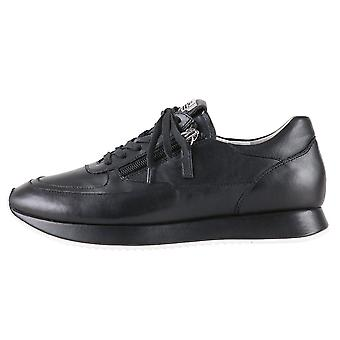 7-10 1320 Le Cloud Lace Up Sneakers En noir