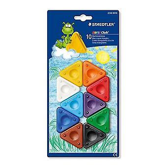 Staedtler Noris Club Chalk triangle shape - blister 10 pc. 2230 BK10