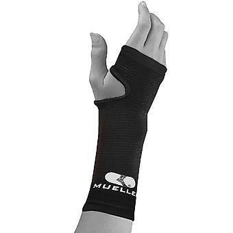 Mueller Elastic Wrist Support Brace - Regular - Black