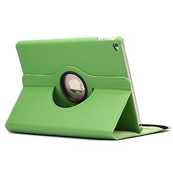 For iPad Air 2 Case,Modern Flip Leather High-Quality Shielding Cover,Green