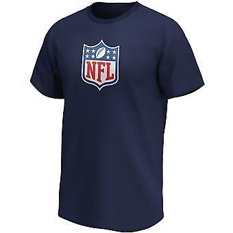 اتحاد كرة القدم الأميركي درع كرة القدم الأمريكية مروحة قميص مبدع الشعار البحرية