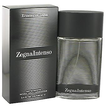 Zegna intenso eau de toilette spray by ermenegildo zegna 463404 100 ml