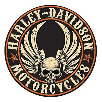 Harley Davidson Die Cut Embossed Tin Sign