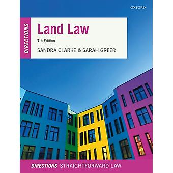 Land Law Directions de Sandra Clarke