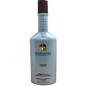Pureology Super Straight Shampoo Sulfaat gratis 10.1 OZ
