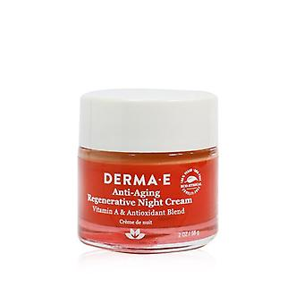 Derma E Anti-Wrinkle Anti-Aging Regenerative Night Cream 56g/2oz
